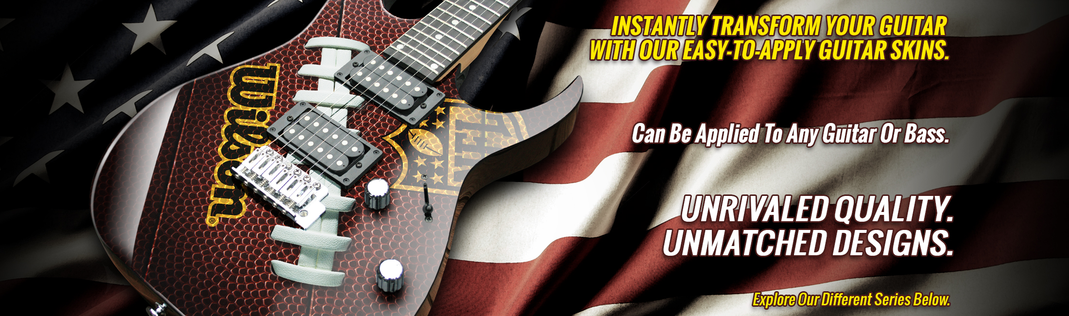 INZANE SKINS - Reskin Your Guitar With These Insanely Wicked Designs