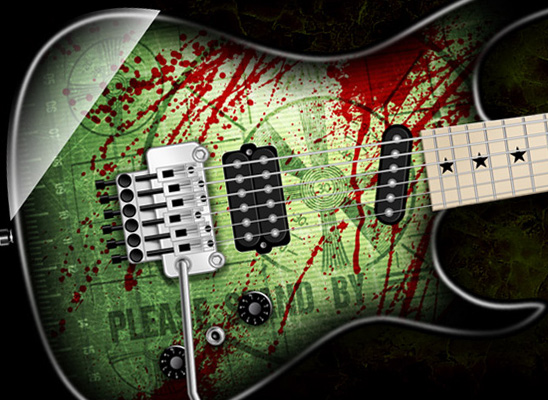 INZANE SKINS - Reskin Your Guitar With These Insanely Wicked